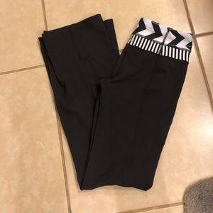 Lululemon wide leg black pants